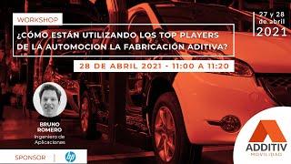¿Cómo están usando los Top Players de la automoción la fabricación aditiva?