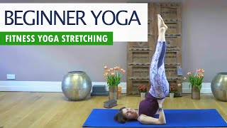 Fitness Yoga for Complete Beginners | Shoulder Stand Workout