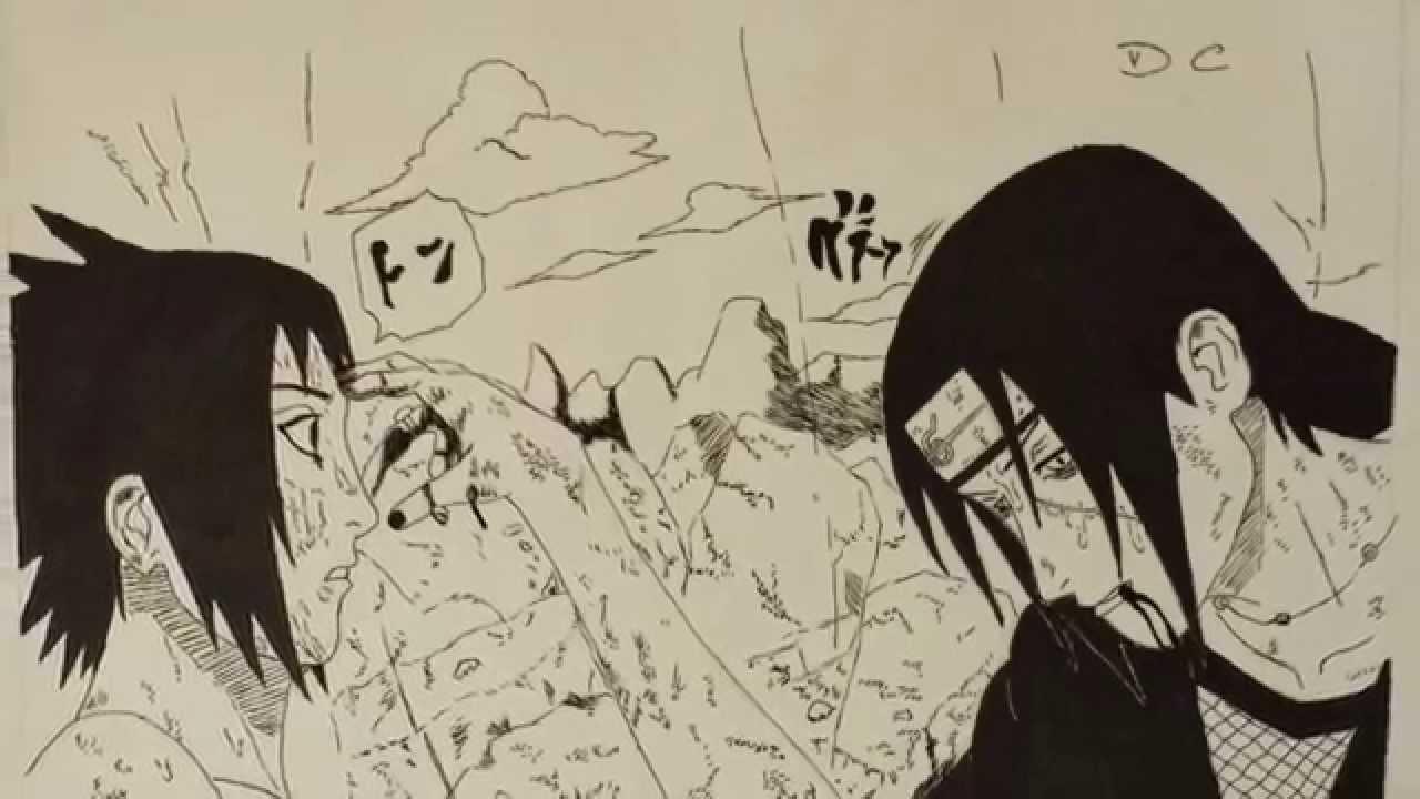 Disegno Sasuke Vs Itachi Youtube