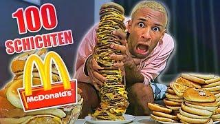 100 Schichten CHEESEBURGER!! 😀😂