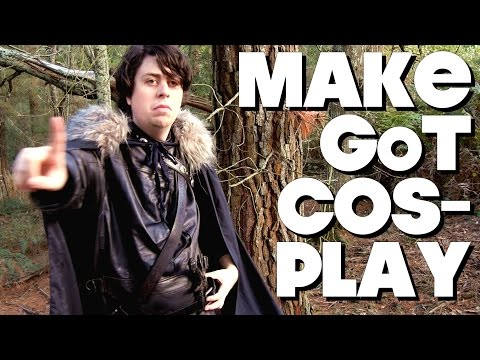 How To Make Game Of Thrones Costume On The Cheap!