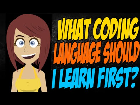 What Coding Language Should I Learn First?