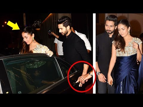 Shahid Kapoor's CUTE Moments With Wife Mira Rajput in Public Will Melt Ur Heart