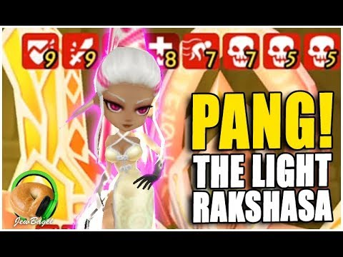 SUMMONERS WAR : PANG! (Light Rakshasa Gameplay & Testing)