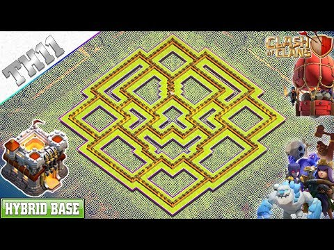 New Best TH11 Base 2019 With COPY LINK | Th11 Trophy/Farming Base – Clash Of Clans