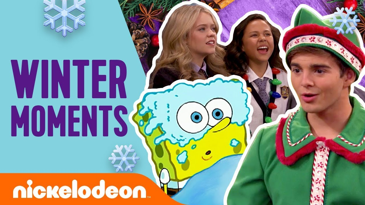Top 11 Winter Moments ☃️ w/ The Loud House, SpongeBob & More! | #TBT