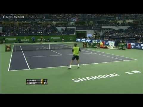 Murray Defeats Ferrer In Shanghai Final Highlights