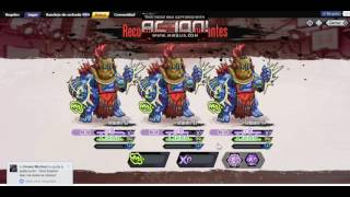 la ralidad del top 100 mutants genetic gladiators | buck maurice platino