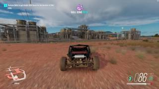 Forza Horizon 3 - How to get 20.000 xp board on the roof in the desert