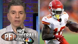 Tyreek Hill reportedly being investigated in battery case | Pro Football Talk | NBC Sports