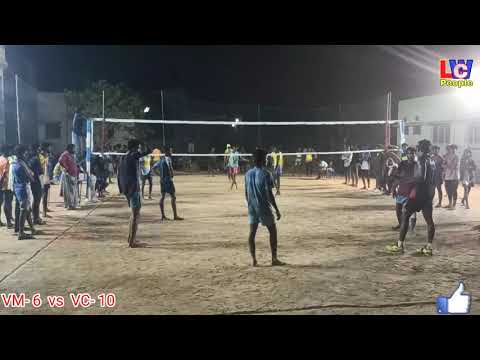 #Semi_final ll VC Friend's and Vaniyamalli volleybal match ll #Tiruvallur_Local_Match