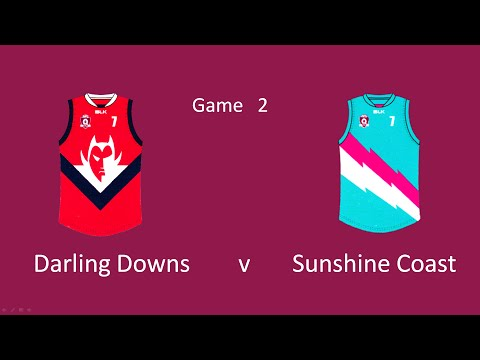 Under14s   Darling Downs v Sunshine Coast