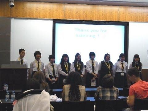 iEARN Okisho presentation at 2013iEARN Conference in Qatar