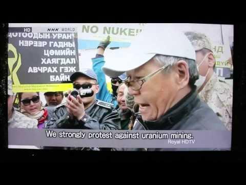 Uranium Mining in Mongolia