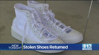 Stolen Shoes Returned To Bear …