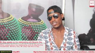 Mr 2kay speaks on relationship with Beverly Osu