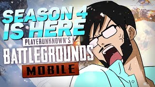 PUBG MOBILE SEASON 4 MAX LEVEL