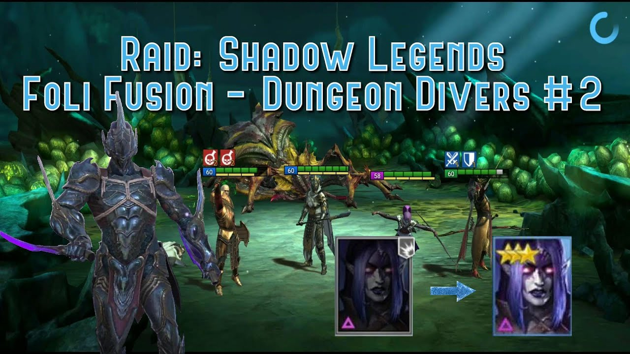 Raid: Shadow Legends - Foli Fusion - Dungeon Divers Event #2