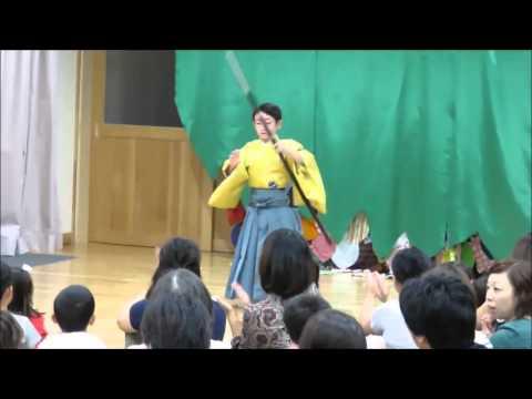 日本舞踊の黒田節を踊りました 竜之介 【村田英雄の黒田武士】