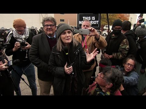 "Amy Goodman Speaks After ND Judge Dismisses ""Riot"" Charges for Covering Pipeline Protest"