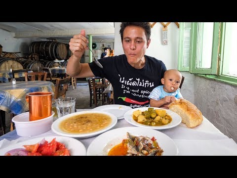 AMAZING Greek Food Tour and Top Things To Do in Athens, Greece!