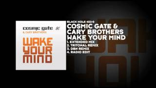 Cosmic Gate & Cary Brothers - Wake Your Mind (Tritonal Remix)