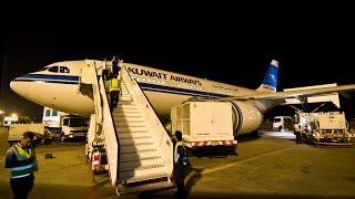 Kuwait Airways A310 Dubai to Kuwait City KU674