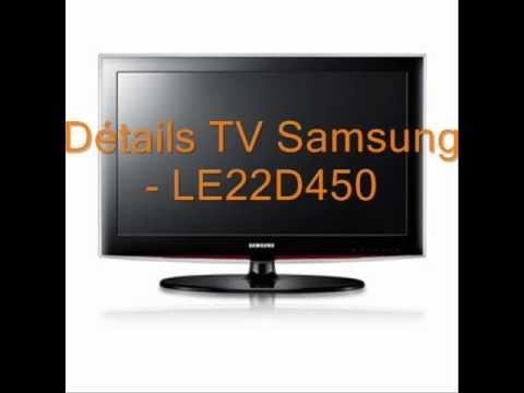 samsung le22d450 tv lcd 22 56 cm hd tv 1080p. Black Bedroom Furniture Sets. Home Design Ideas