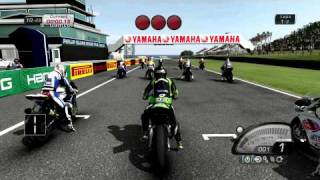 SBK X Superbike World Championship Gameplay - Phillip Island - Full Simulation Mode