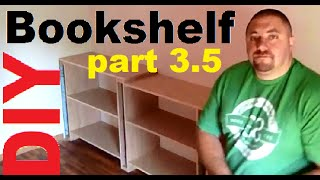 Diy 3.5 Build Hardwood Bookshelves, Book Cases, Entertainment Center, Storage Shelves, Utility Shelf