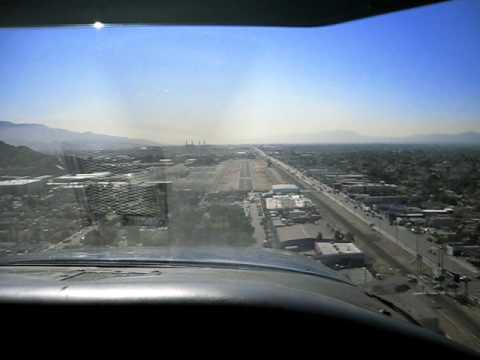 Perfect Cessna Cardinal Landing at Whiteman Airport, CA