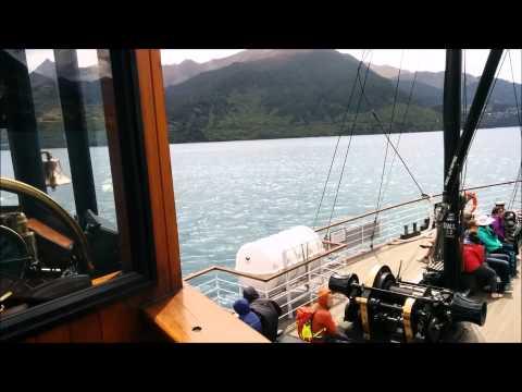 TSS Earnslaw Vintage Steamship on Lake Wakatipu, Queenstown NZ