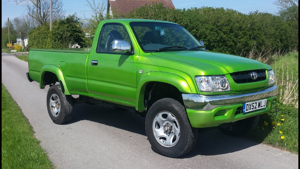 2002 Candy Green Toyota Hilux 2 5td For Sale Youtube