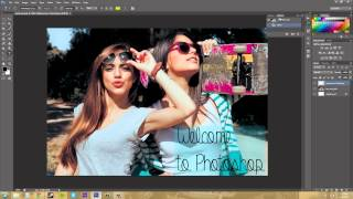 Photoshop CS6 Tutorial - 4 - Working with Panels