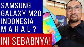 Kenapa Samsung Galaxy M20 di Indonesia Lebih Mahal Daripada Di India?