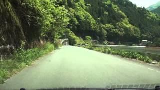 高知県道17号 西側  高知県いの町・旧本川村→大川村