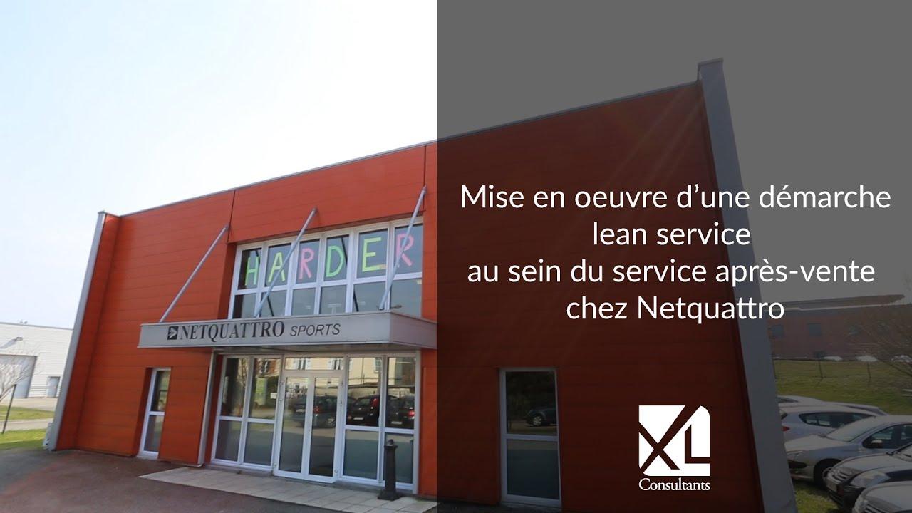 Démarche Lean Service Chez Netquattro