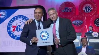 2016 nba draft lottery reveal