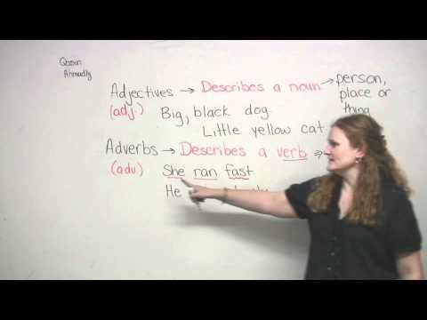 English Grammar - Adjectives & Adverbs