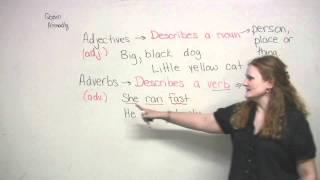 English Grammar - Adjectives & Adverbs