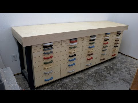 Incredible Tool Cabinet / Workbench!
