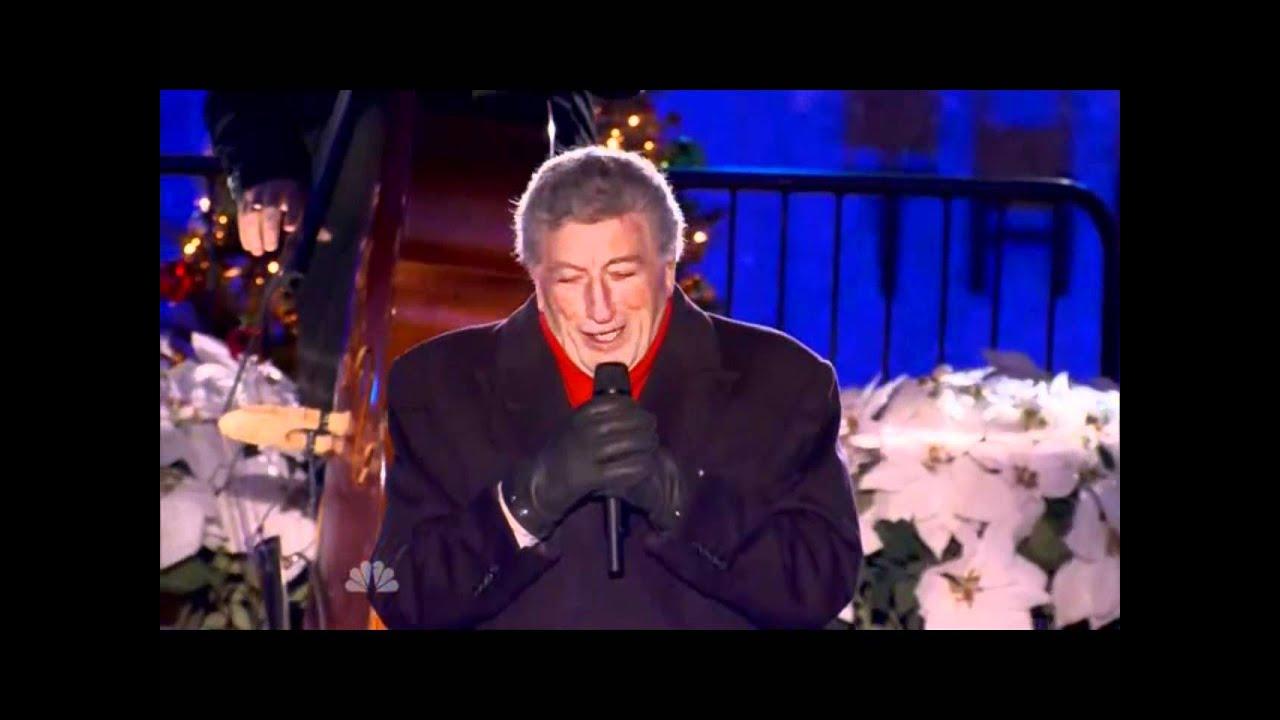 christmas in rockefeller center 2011 tony bennett live nbc hd youtube