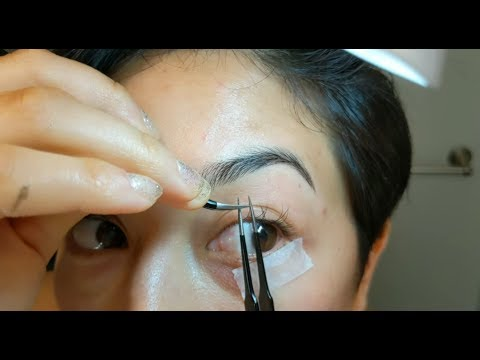 (UPDATE)- Doing My Own Single Synthetic Mink Eyelash Extensions
