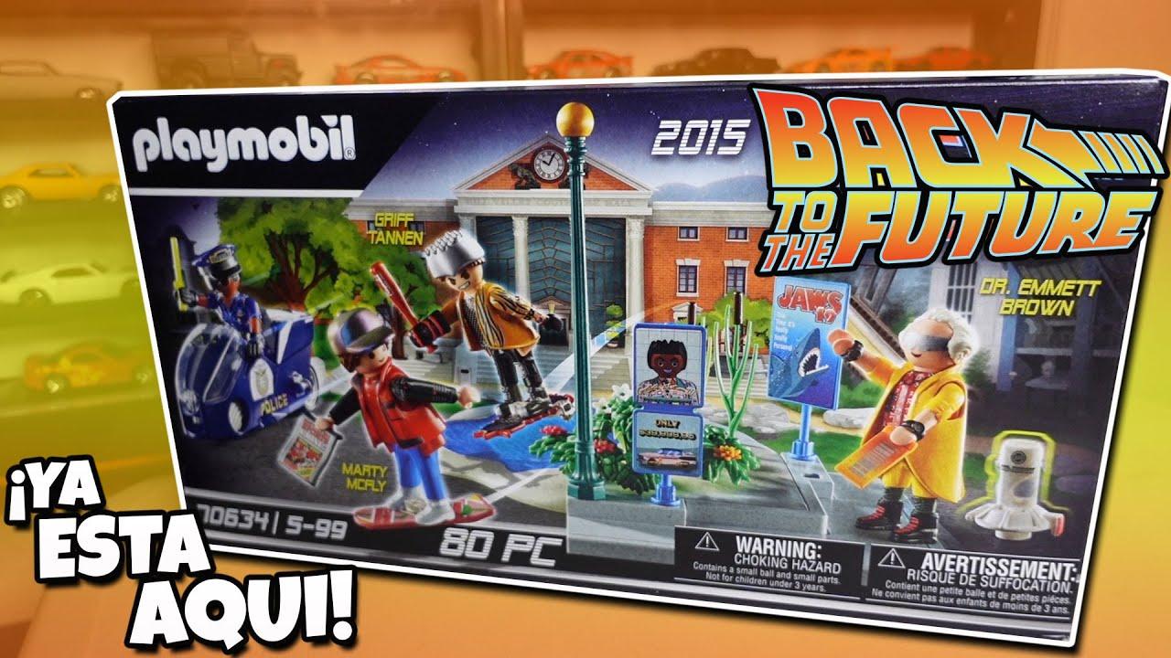 Armemos mi set del futuro de Volver al Futuro Playmobil | Back to the future Hoverboard & MR. Fusion