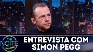 Entrevista com Simon Pegg | The Noite (27/03/18)