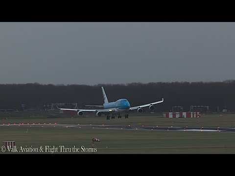 Gust 65 @ Storm at Schiphol Airport