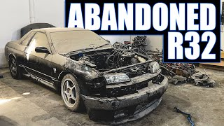 homepage tile video photo for Taking Possession of an Abandoned R32 Skyline