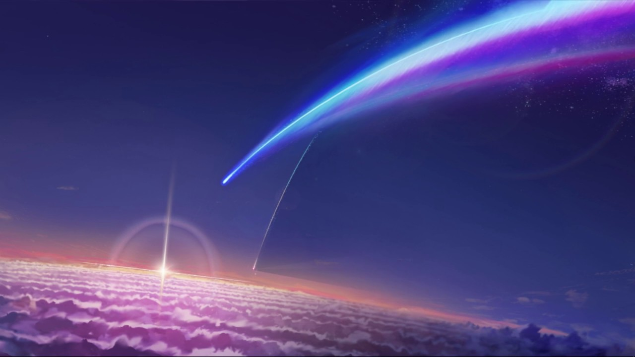 Kimi no na wa-君の名は-(your name) live wallpaper-wall paper engine - YouTube