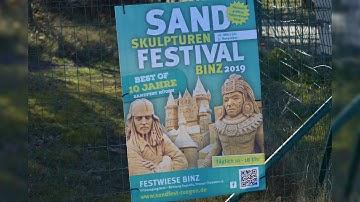 Super Wetter war das im Ostseebad Binz auf Rügen am 14.März 2020 ☀️  (HD)