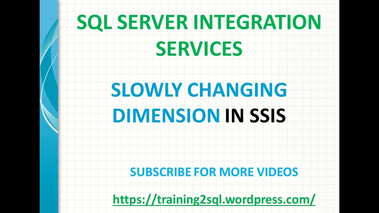 INCREMENTAL DATA LOAD IN SSIS | MERGE IN SSIS | EXECUTE SQL IN SSIS by  Training2SQL MSBI